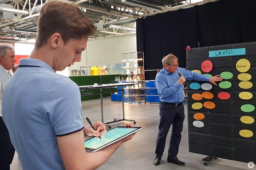 Die Stadt Bühl, das Karlsruher Institut für Technologie und die TechnologieRegion Karlsruhe haben zu spannenden Workshops zu drei zentralen Zukunftsthemen eingeladen.